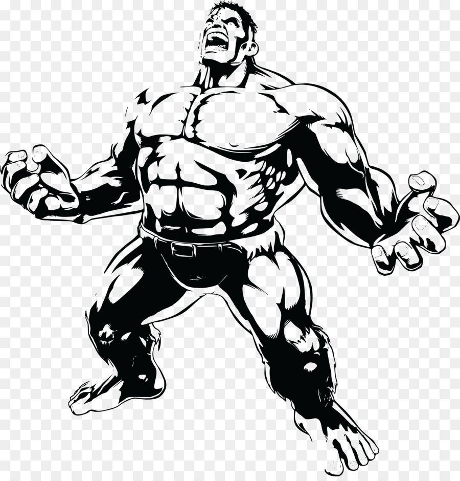 Hulk Drawing Clip art.