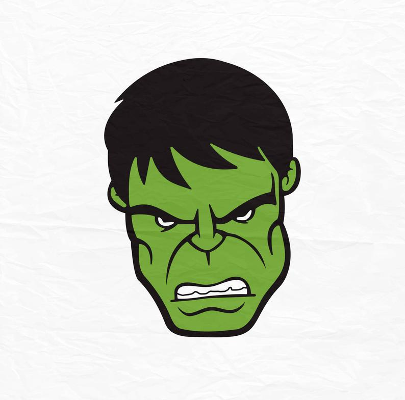 Collection of Hulk clipart.