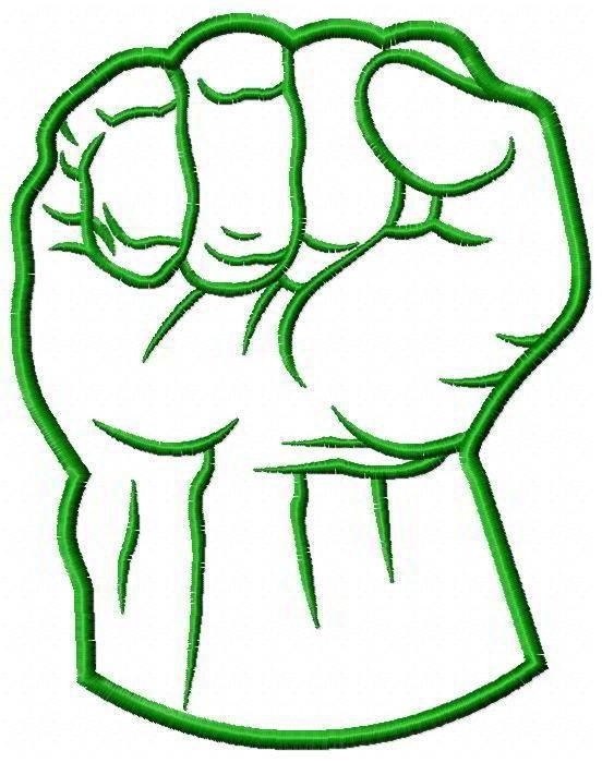 Hulk Fist.