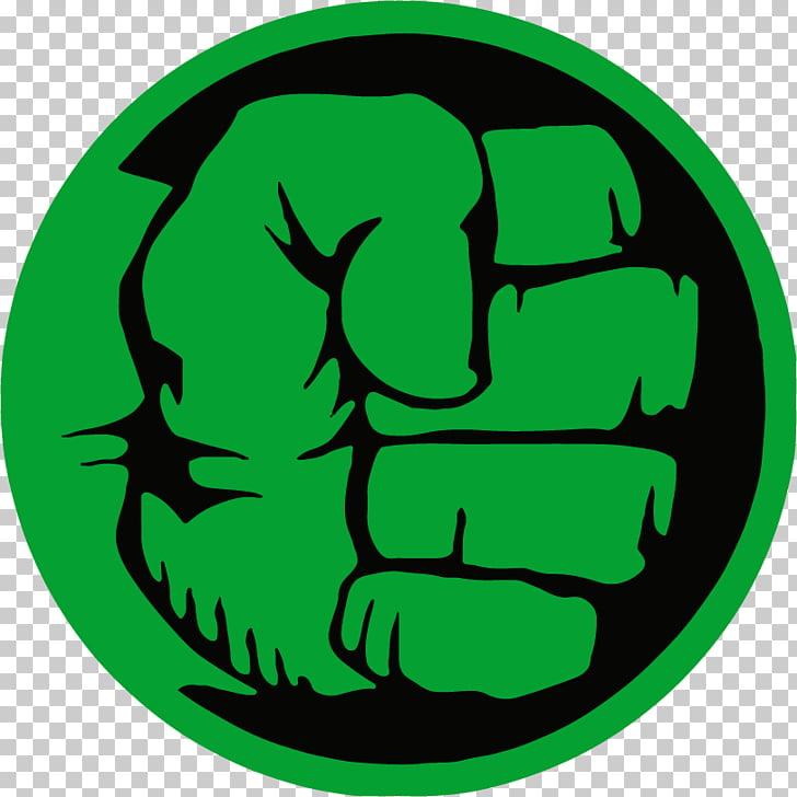 Hulk Logo Superhero Decal, hulk logo, incredible hulk fist.