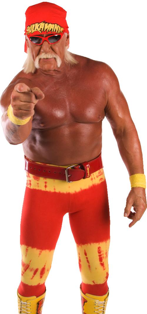Hulk Hogan PNG Images Transparent Free Download.