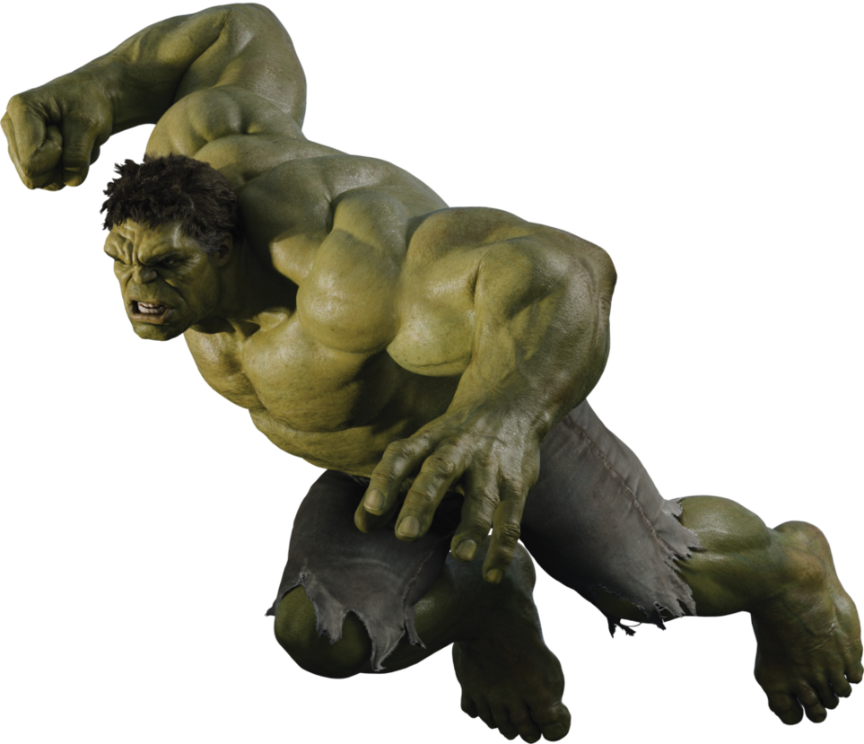 Marvel's Incredible Hulk PNG Transparent Images.