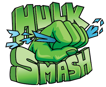 Hulk Smash Clipart.