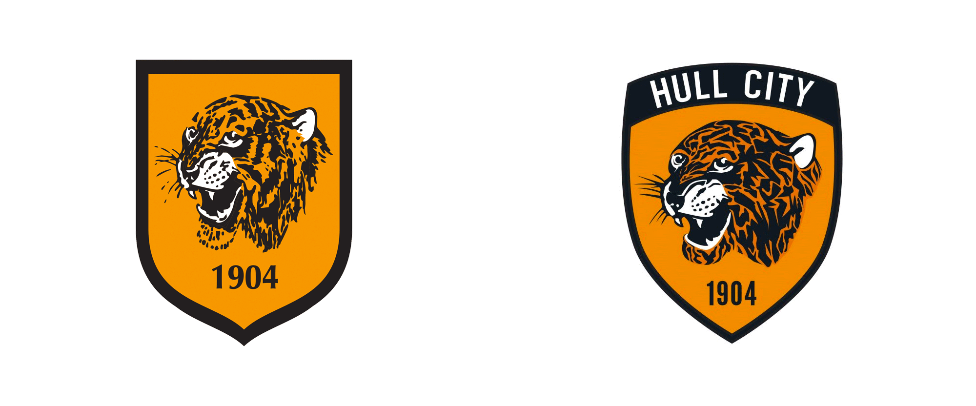Brand New: New Logo for Hull City Tigers.