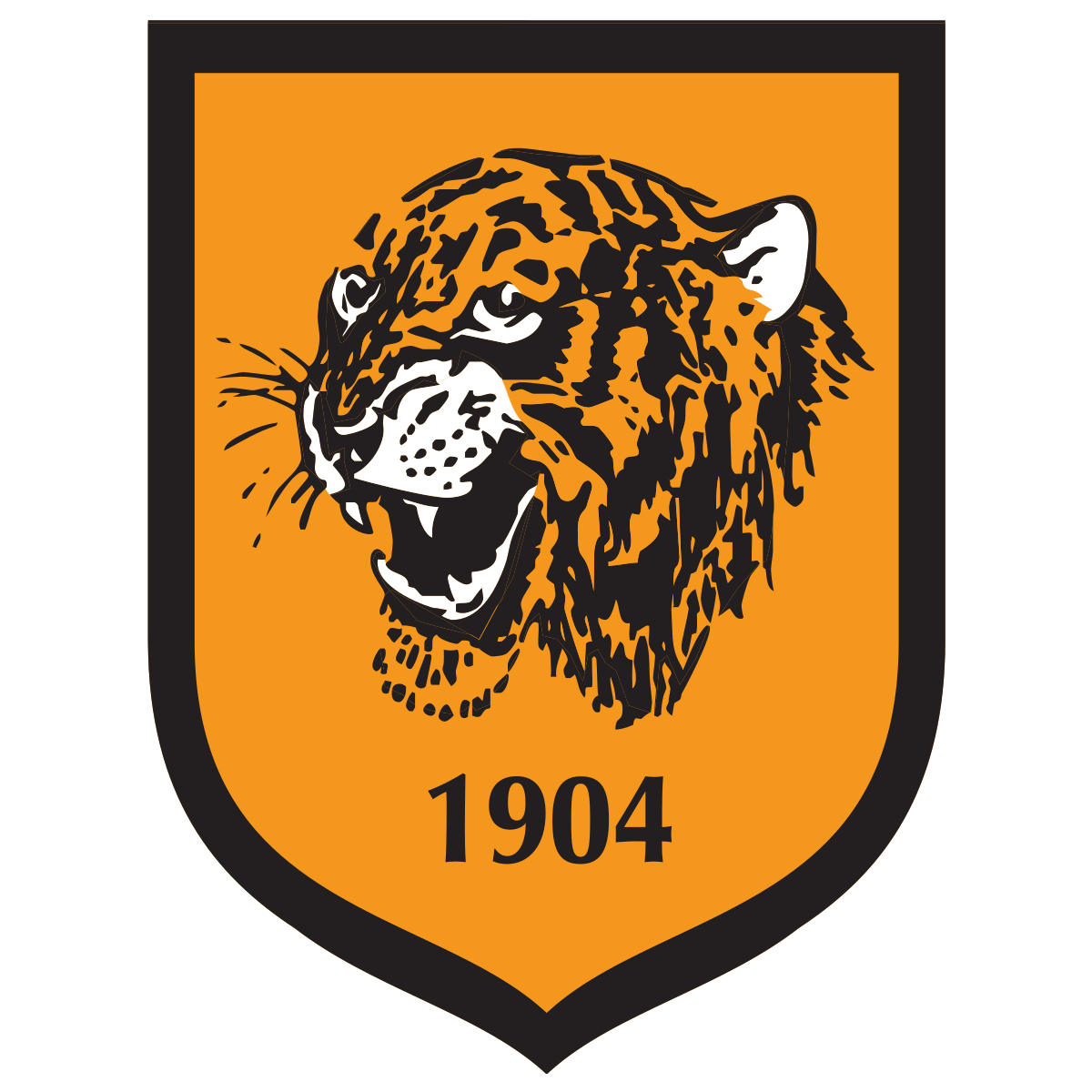 Hull City A.F.C. Logo & Team Color Codes.
