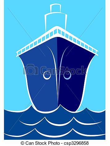 Stock Illustration of Ship.