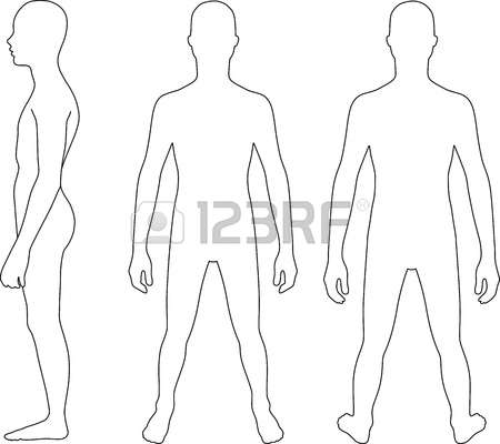 22,389 Body Outline Stock Illustrations, Cliparts And Royalty Free.