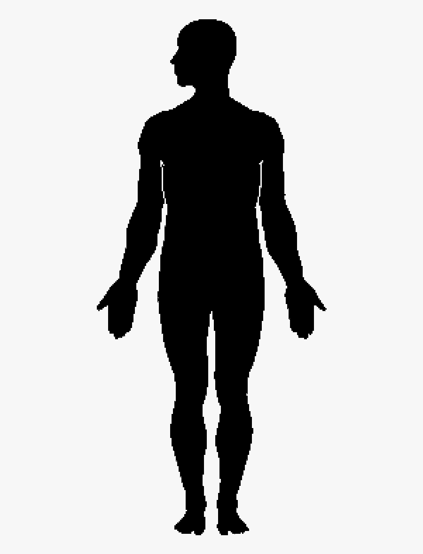 Human Body Silhouette Clip Art.