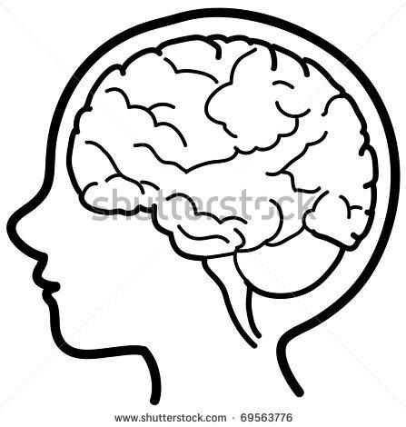 Human Brain Clipart.
