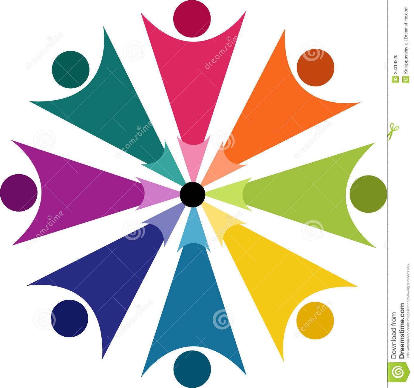 Human Logo Stock Photo.