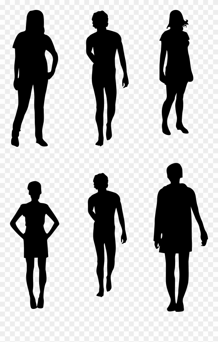 Photoshop People Silhouettes.