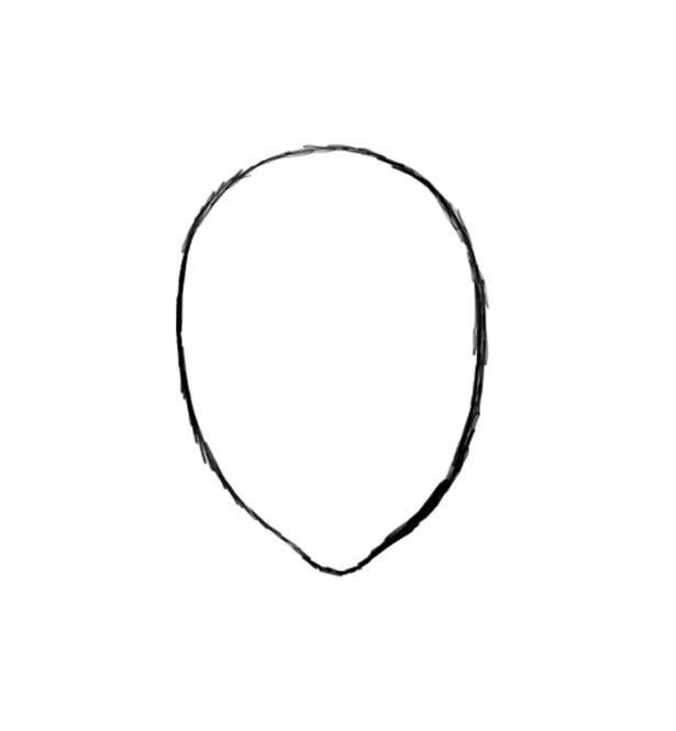 Free Human Face Outline, Download Free Clip Art, Free Clip.