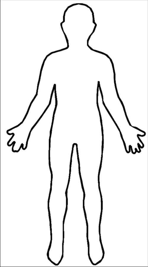 Human clipart human form, Human human form Transparent FREE.