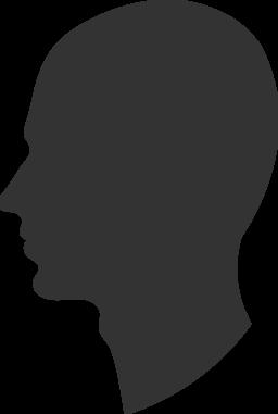 Clipart of human head.