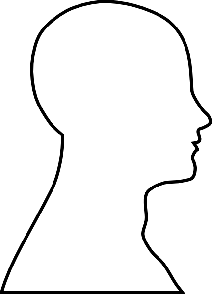 Human Face Outline.