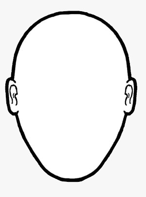 Portraithead Outline.