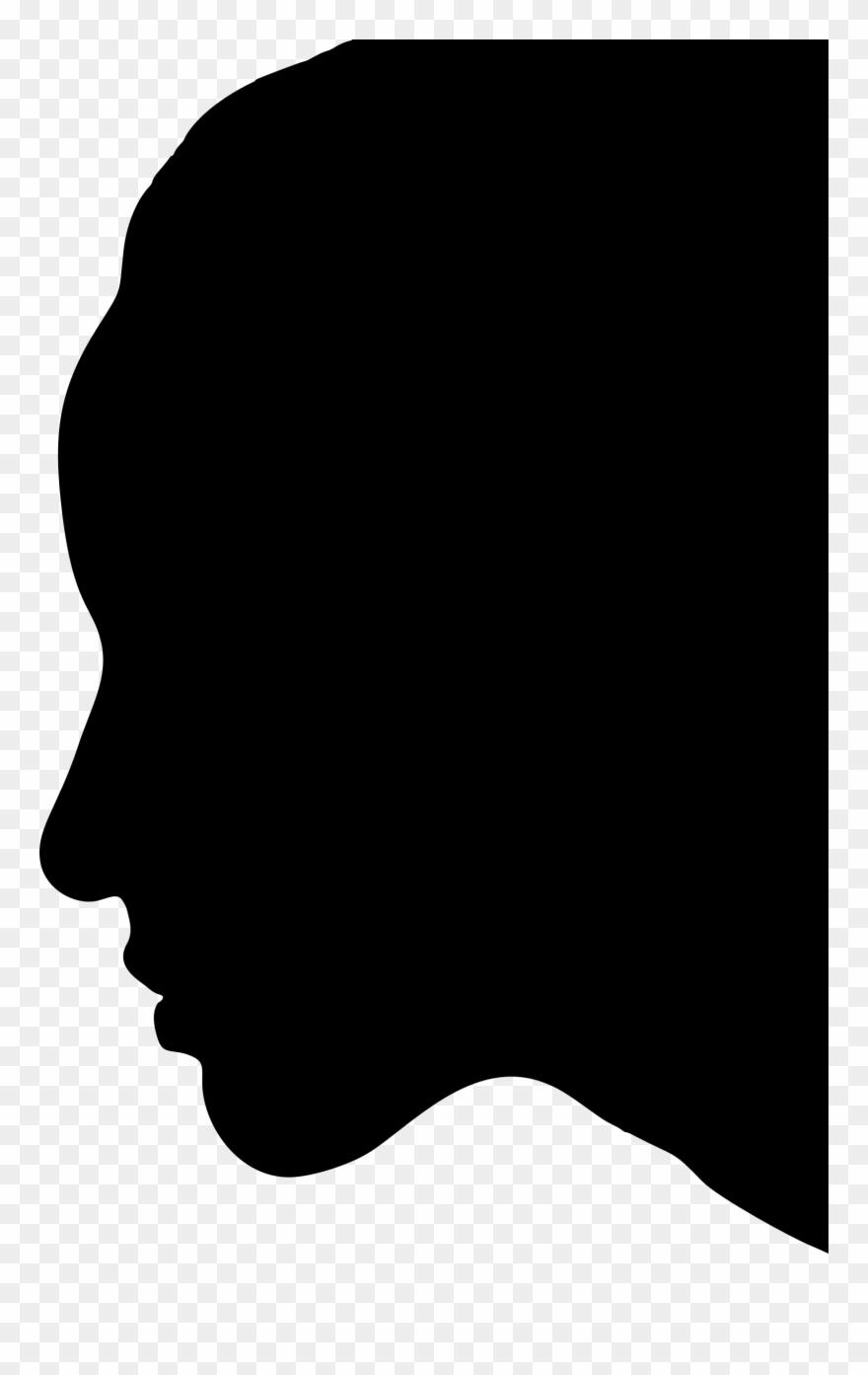 Female Silhouette Profile At.