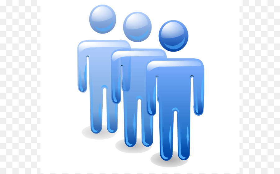 Human Resources Blue png download.