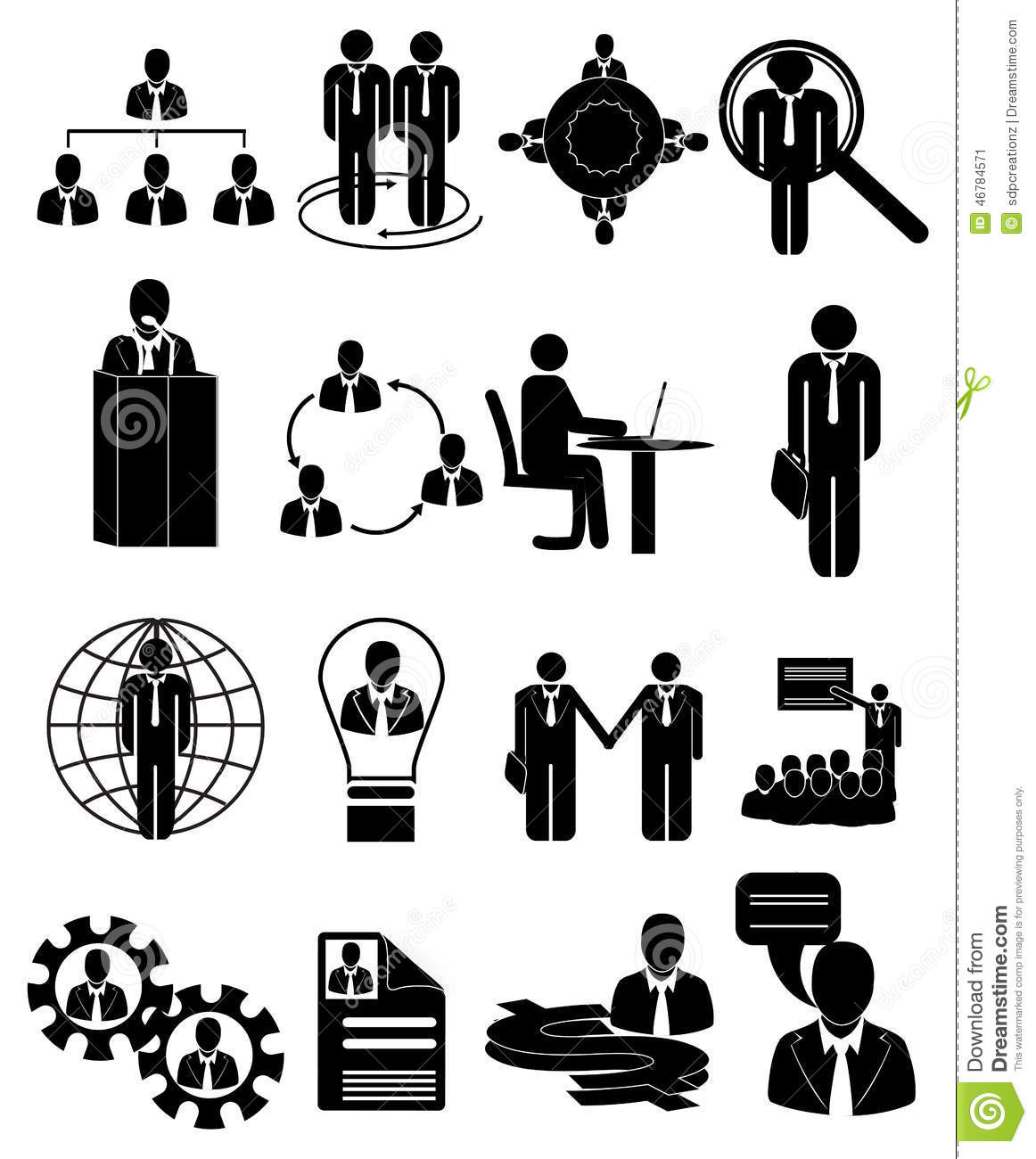 Human Resources Clipart Black And White.