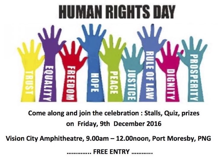 UN takes human rights celebration into PNG's worst abuser's home.