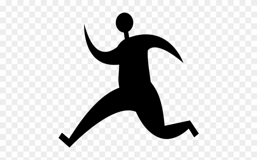 Logo, Sign, Icon, Human, Running, Template, Shape Clipart.