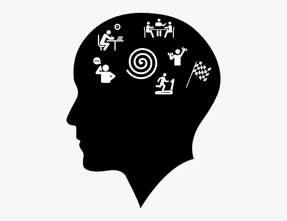 Human Face Side View Silhouette , Transparent Cartoon, Free.