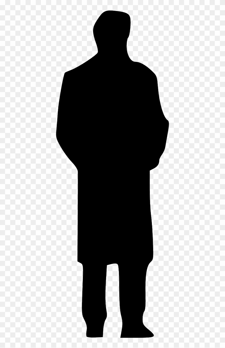 Clip Art Black And White Download Human Silhouette.