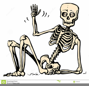 Free Human Skeleton Clipart.