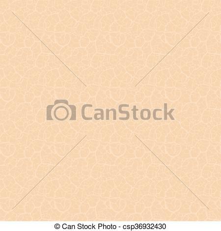 Human skin texture. Seamless pattern. Vector..