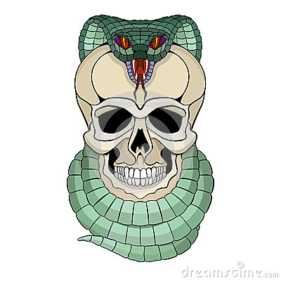 Skull Snake Clip Art Stock Photos, Images, & Pictures.