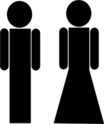 Free download of Myleandro Toilet Sign clip art Vector Graphic.