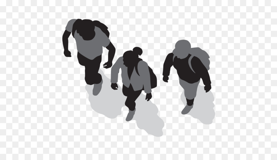 Free Silhouette Of People Walking, Download Free Clip Art.