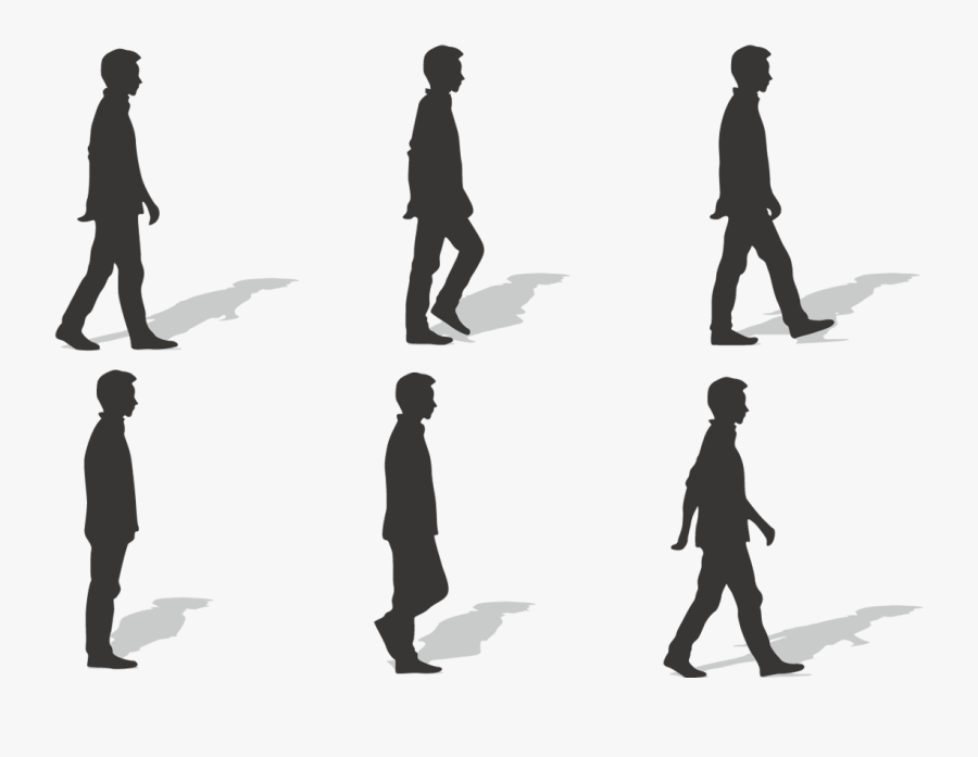 Walking Silhouette Ms.