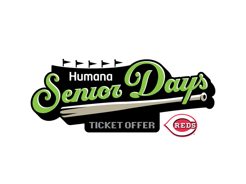 Humana Senior Days logo with Ticket Offer by Mike Manning on.