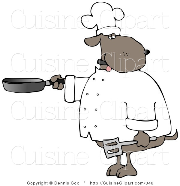 Cuisine Clipart of a Human.