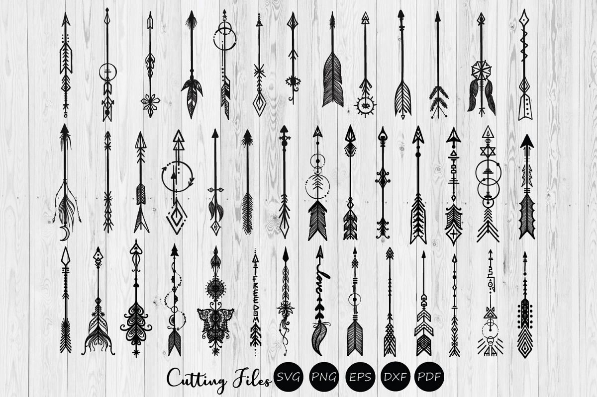 68 Arsty arrows humble bundle clipart.