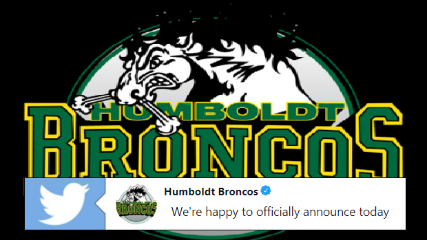 Humboldt Broncos announce Junior A hockey team will return.