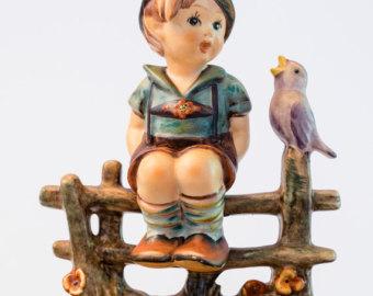 M i hummel figurine.