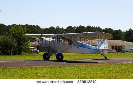 Small Cargo Plane Landing Owls Head Stock Photo 20009356.