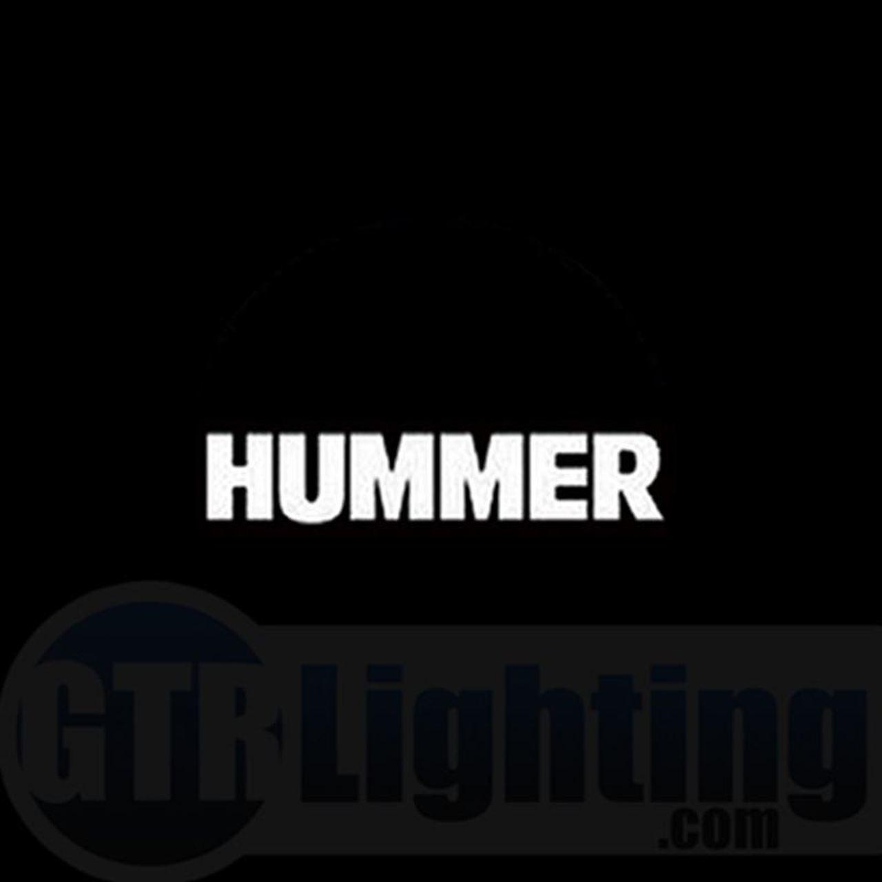 GTR Lighting LED Logo Projectors, Hummer Logo, #37.
