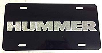 Hummer Logo Inspired Laser Engraved/Etched.