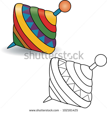 Spinning Top Toy Stock Images, Royalty.