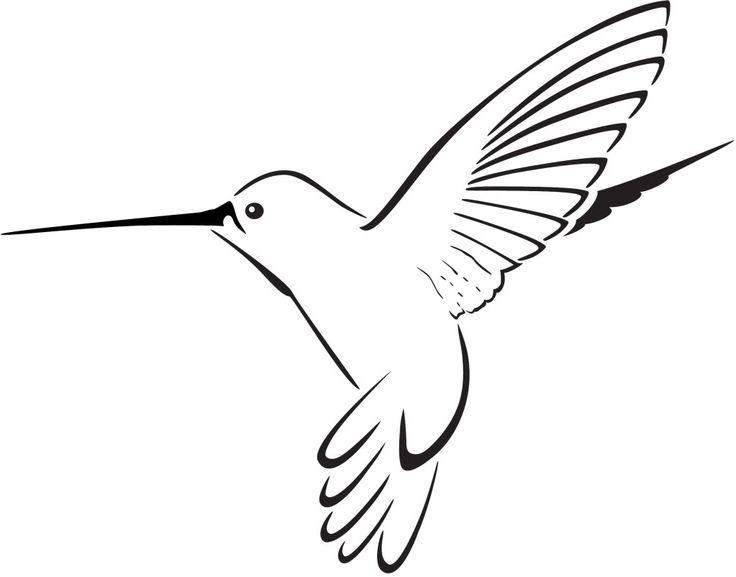 Free Hummingbird Clip Art Black And White, Download Free.