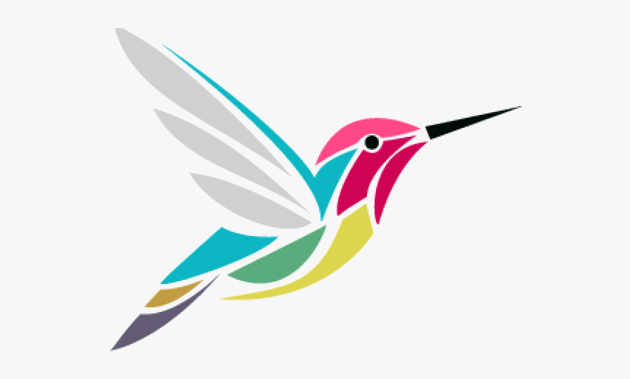 Hummingbird Clipart Whimsical.