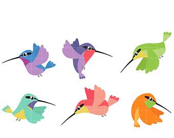 Hummingbird clip art.