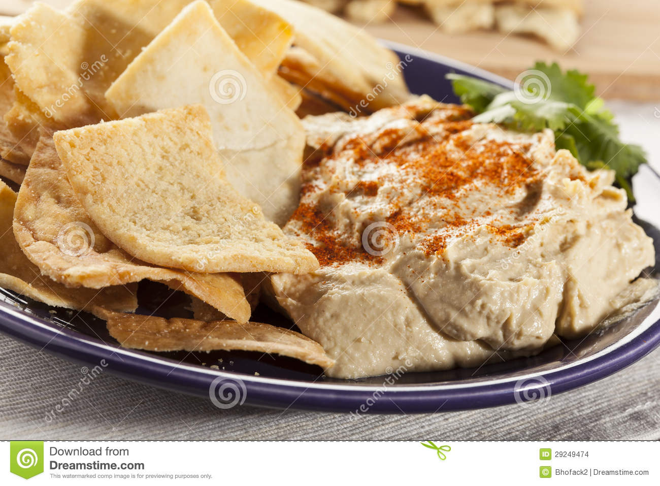 Pita Chips Clipart.