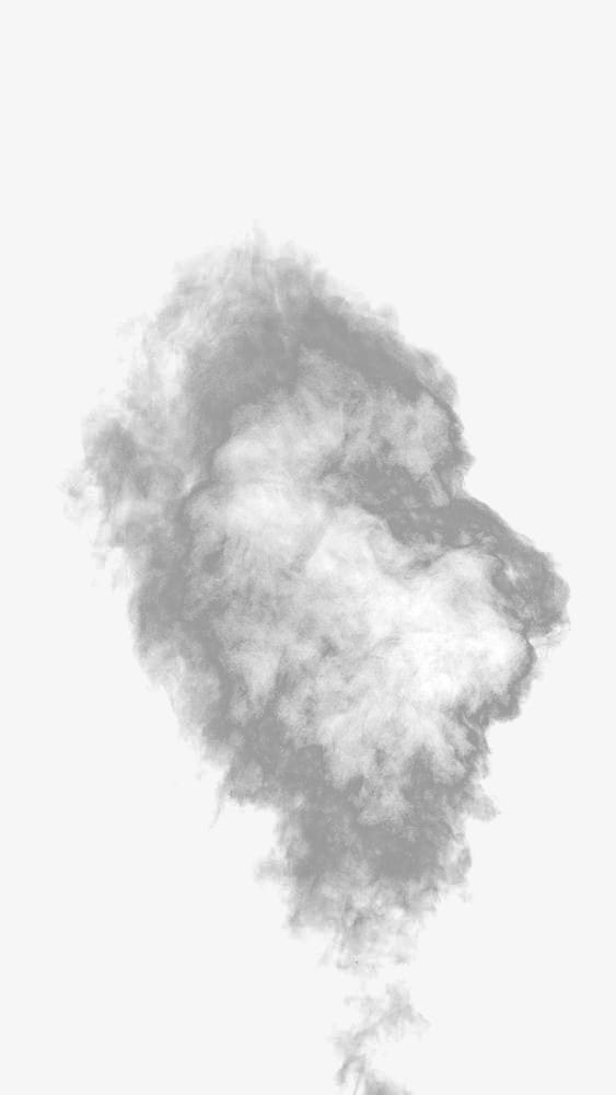 Humo blanco PNG Clipart.