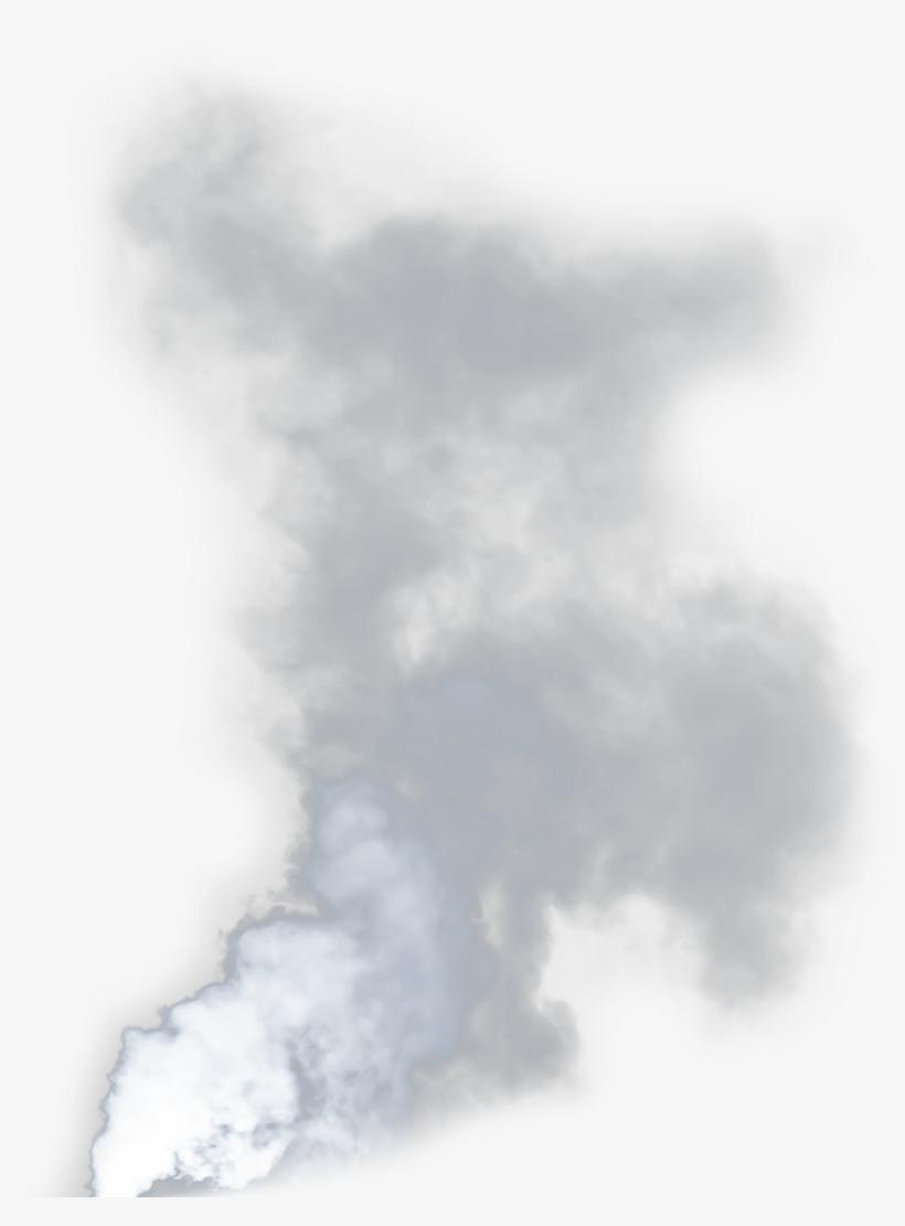 Smoke Cloud Cigarette Volcano Fire Vape.