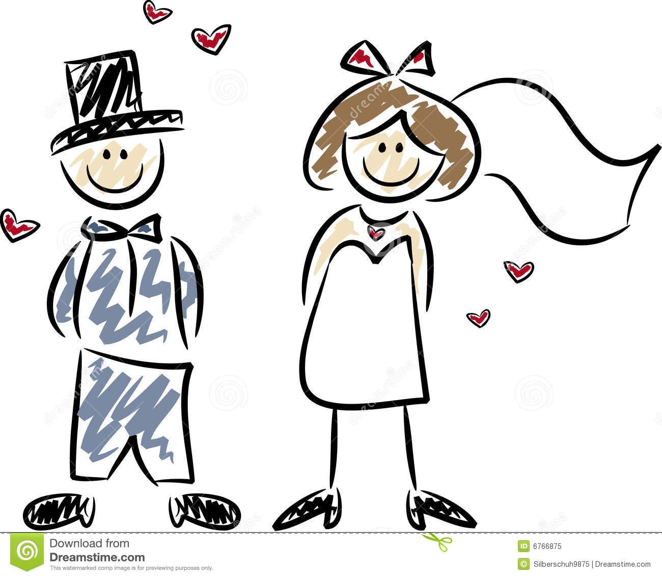 Cute Wedding Clipart.