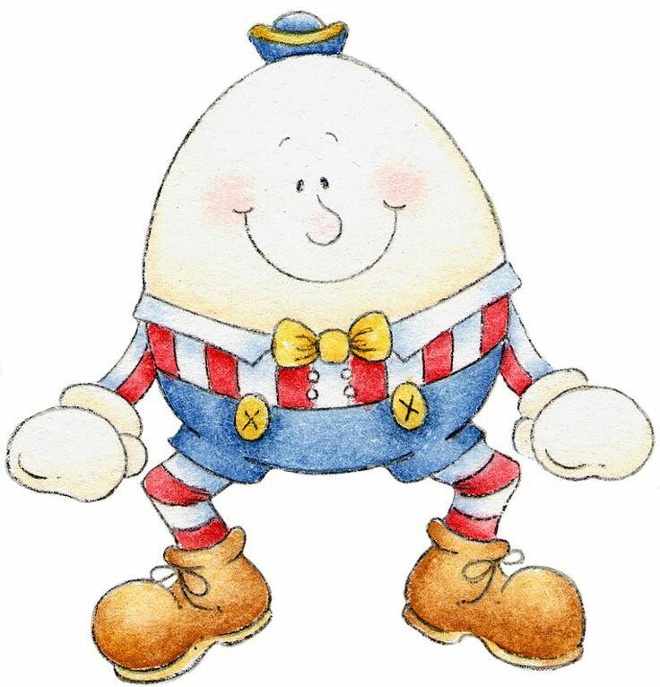 Humpty Dumpty Clipart.